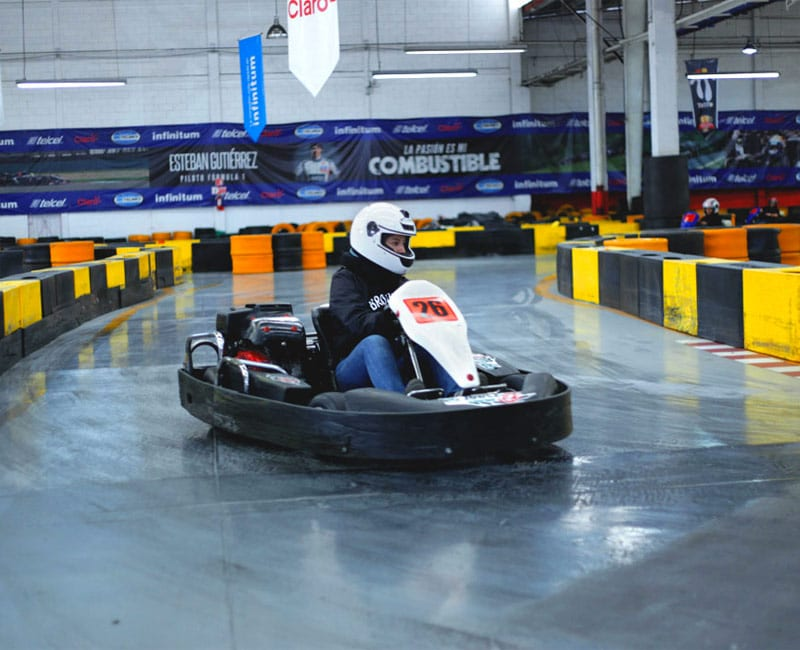 SATmexico dmc events team building activities go kart race mercedes benz
