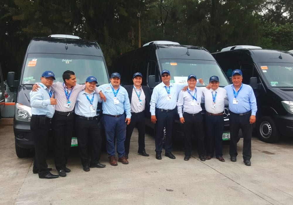 SATmexico dmc services ground transportation mexico team