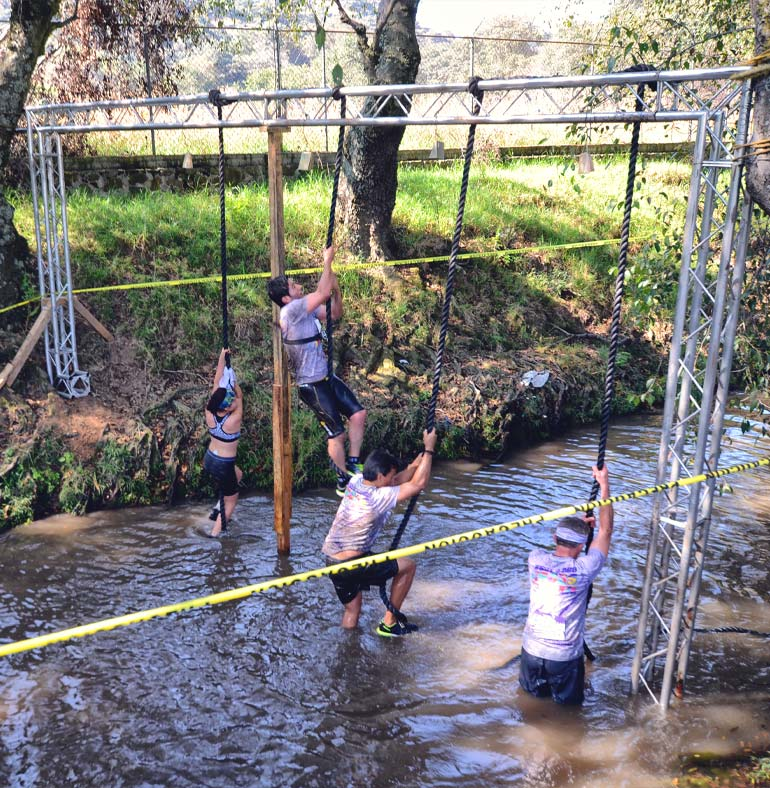 SATmexico dmc events production sport mexico climb obstacle color run cross challenge