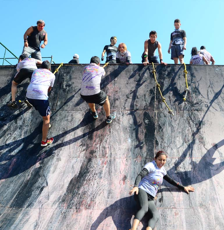 SATmexico dmc events production sport mexico climbing alpha obstacle color run cross challenge